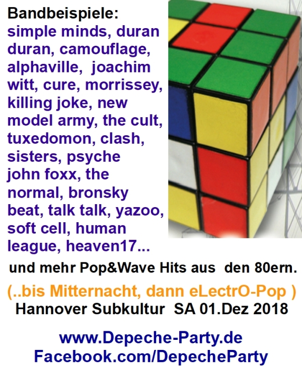 80er pop and wave hannover party