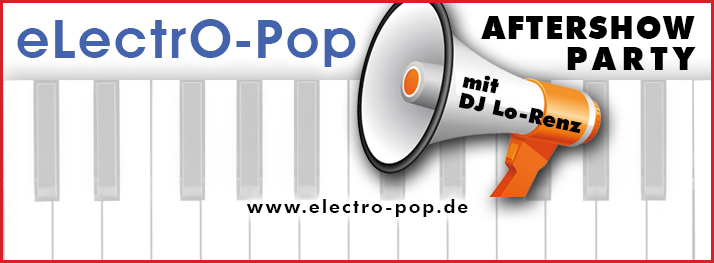 Hannover Aftershowparty electropop musikzentrum