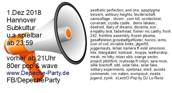 electropop party hannover dj lorenz subkultur